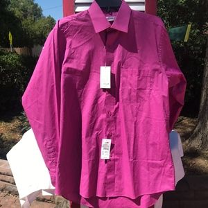 Pierre Cardin Men's Button-Down Casual Shirt NWT